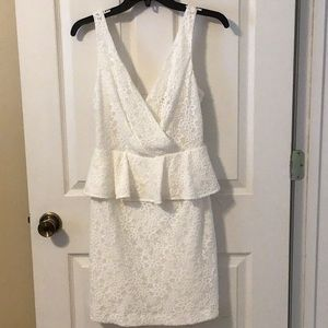 Trina Turk Peplum mini dress